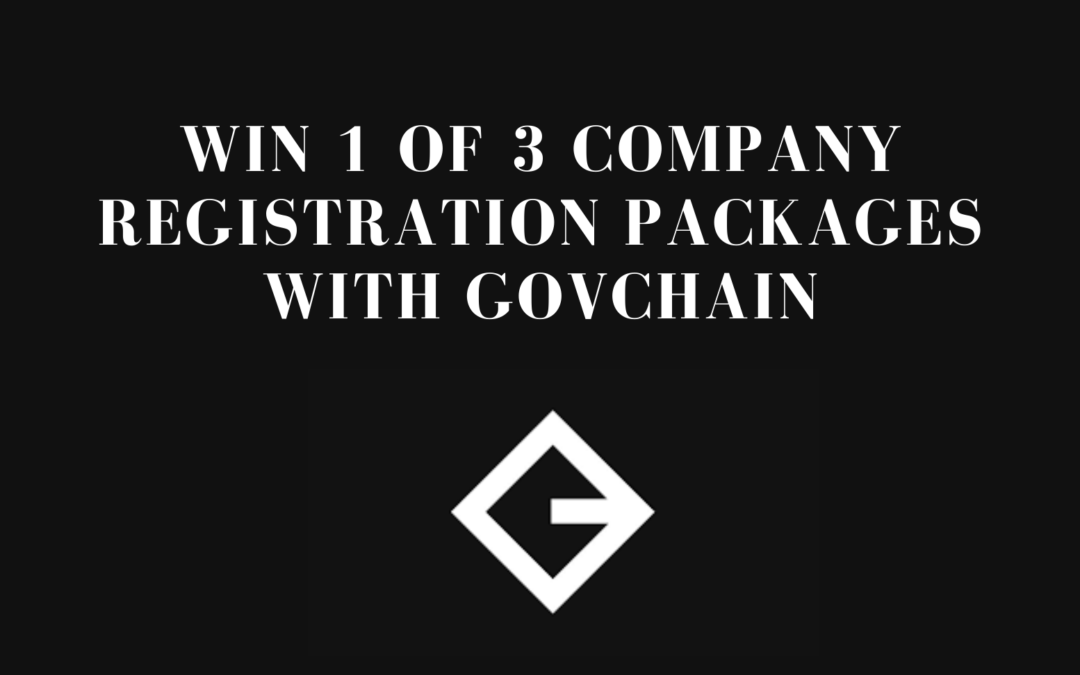 WIN 1 of 3 Company Registrations with Govchain